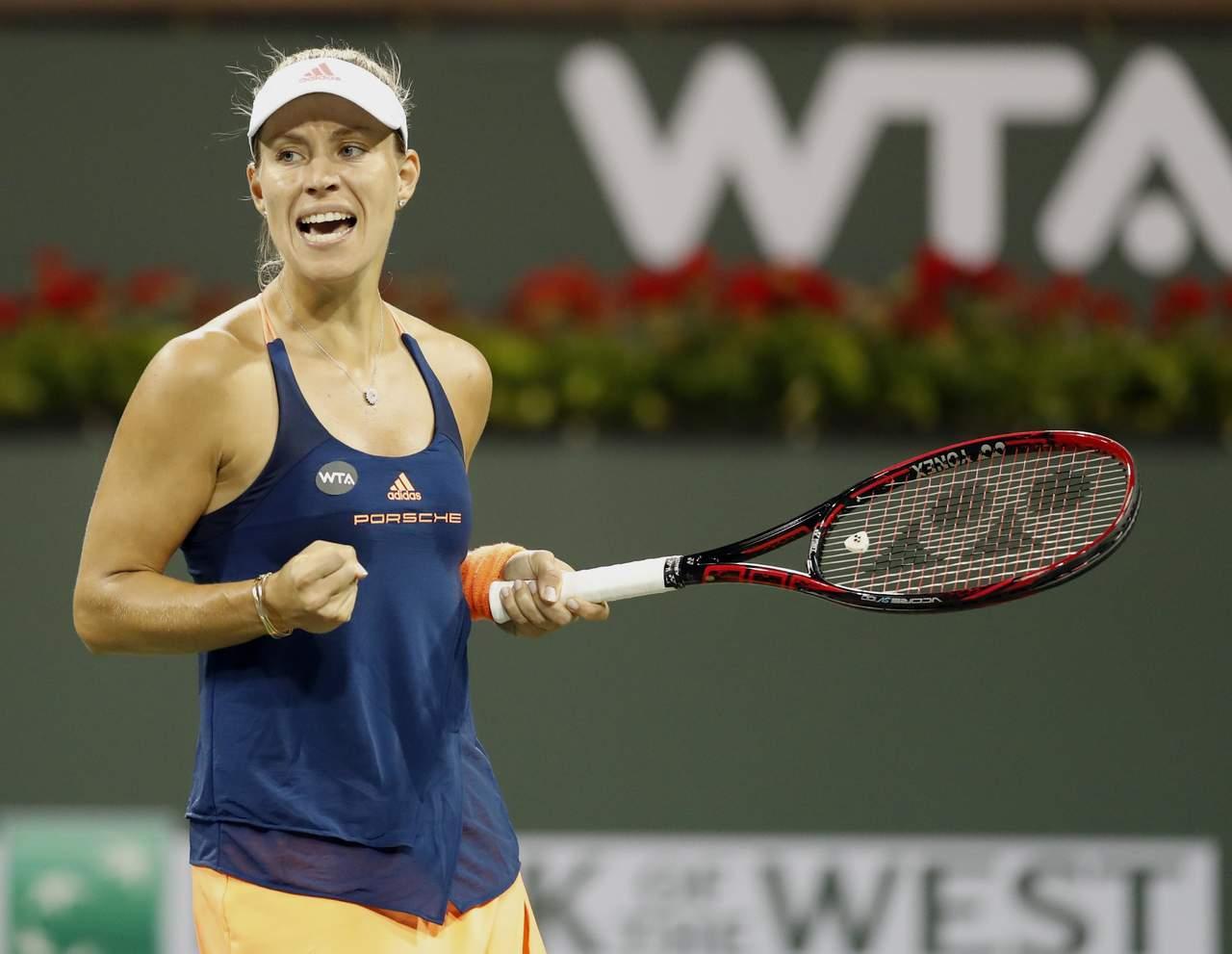 Angelique Kerber sigue en la cima del WTA