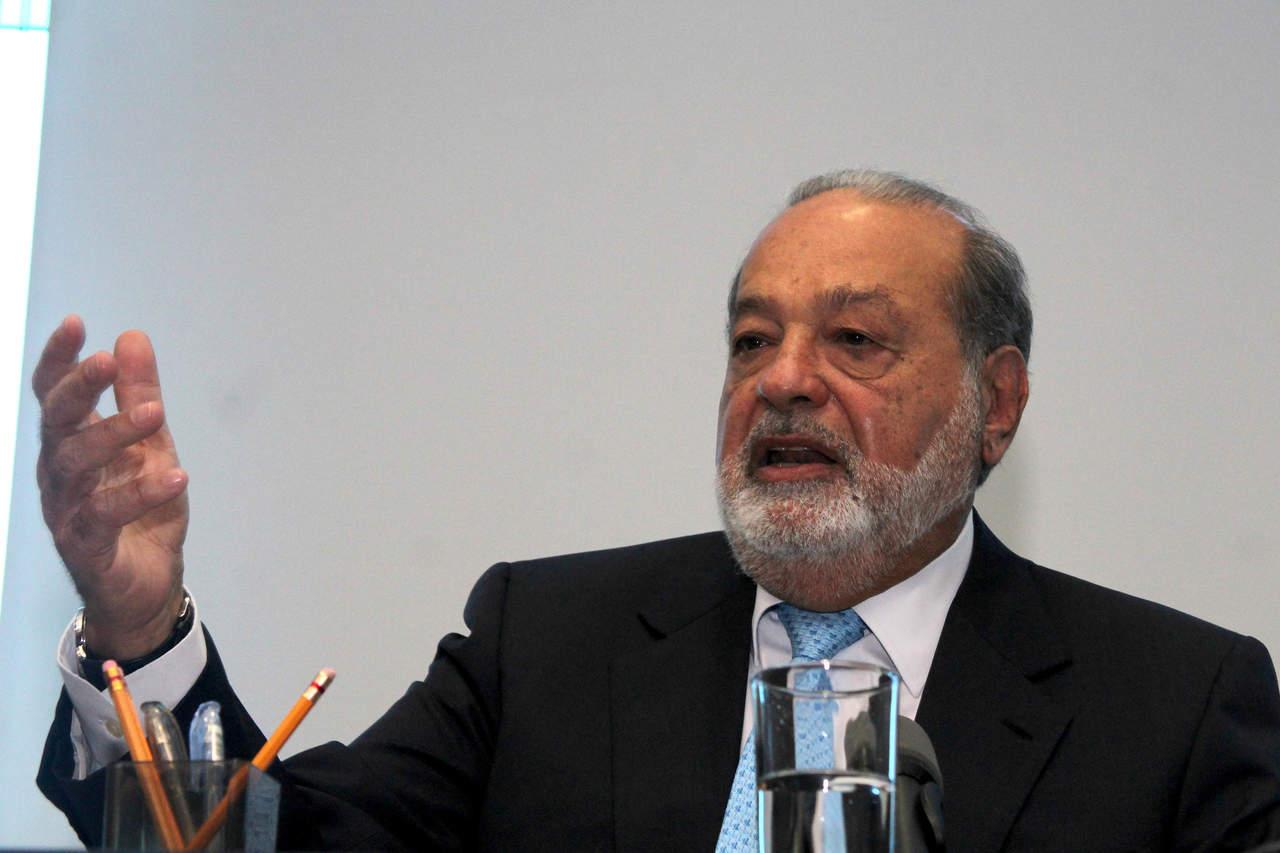 Carlos Slim cae al sexto puesto de lista Forbes