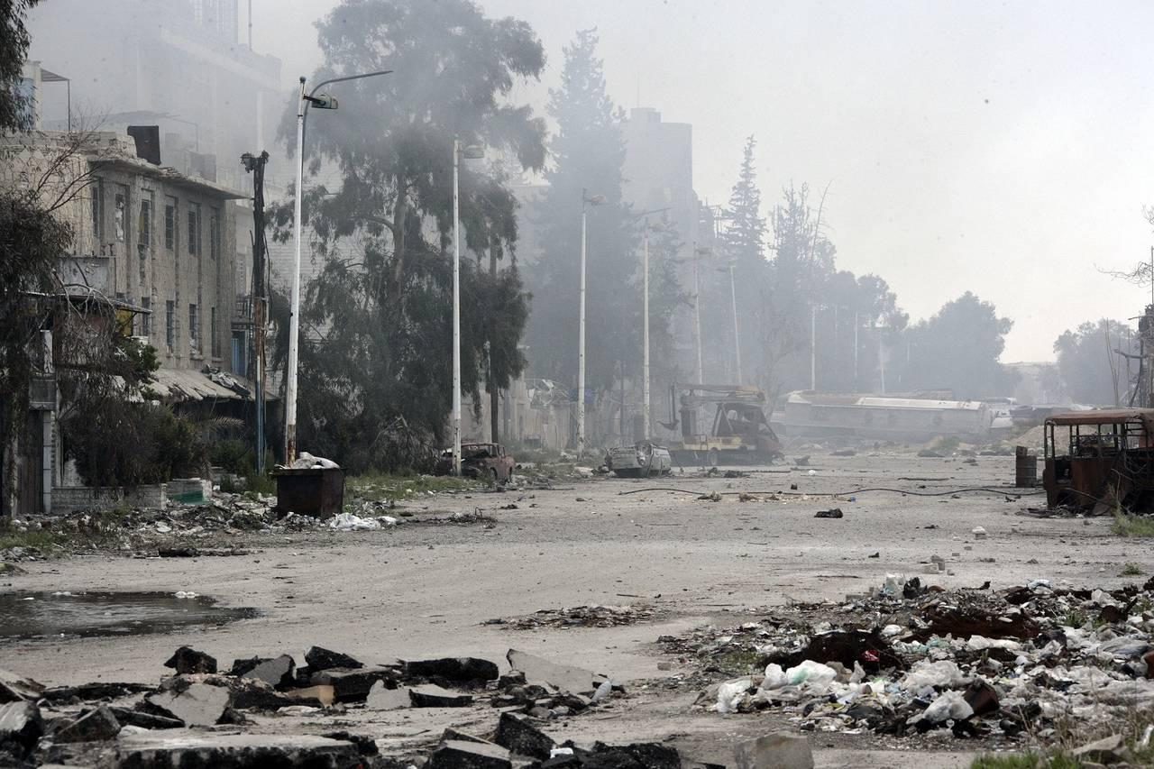 Ejército sirio recupera terreno en Damasco