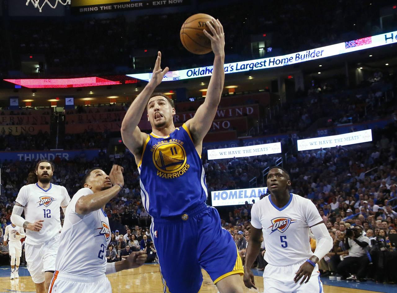 Warriors derrota como visitante al Thunder