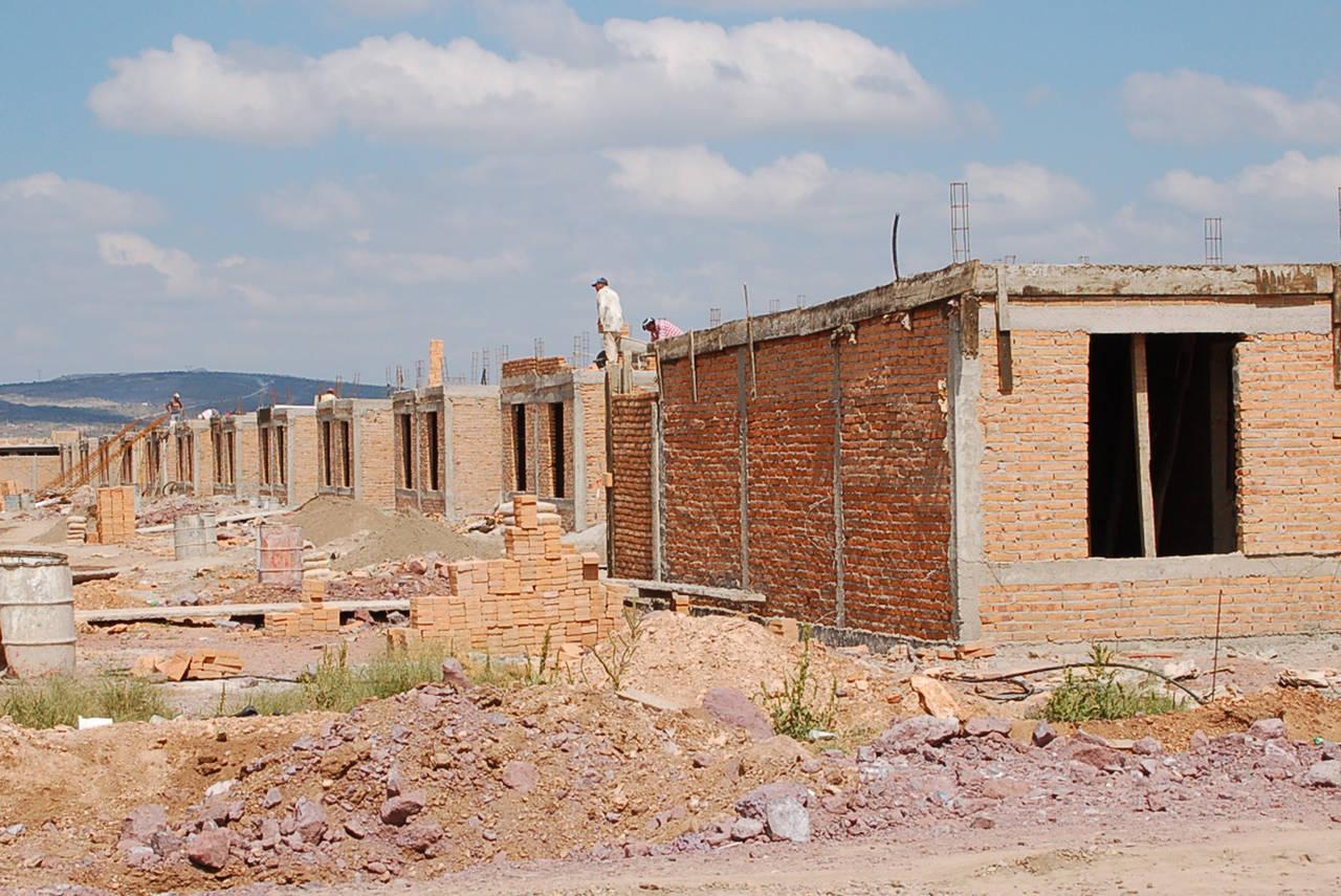 Asignan menos recursos para viviendas
