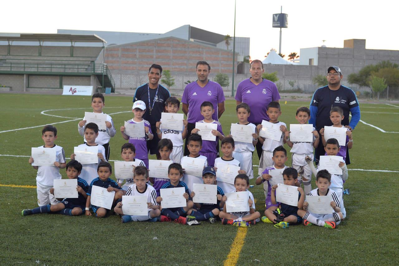 Llegan a feliz término las Clinics Real Madrid