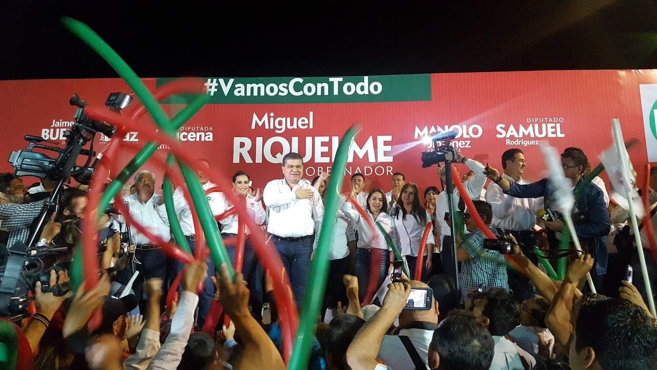 Riquelme arranca campaña en Saltillo