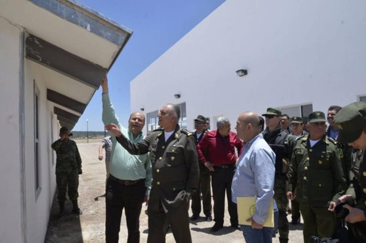 Resultado de imagen para construcción de un cuartel militar en la Tarahumara
