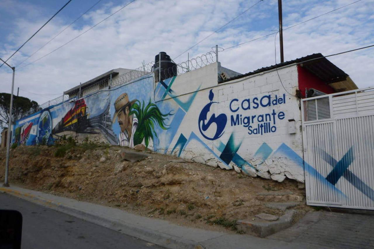Busca casa del migrante acercarse a candidatos for Mural de la casa del migrante