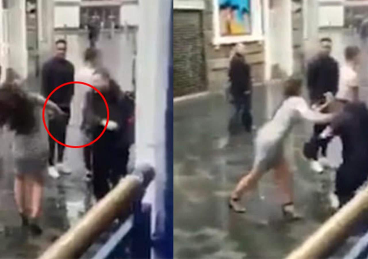 Cadenero golpea a mujer y se hace viral