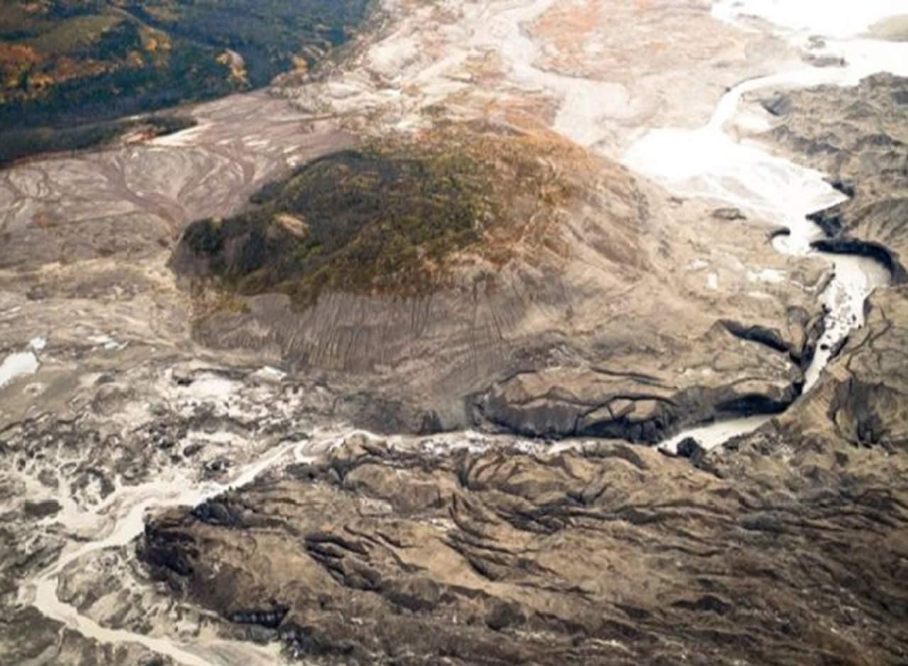 Un río desaparece en cuestión de días