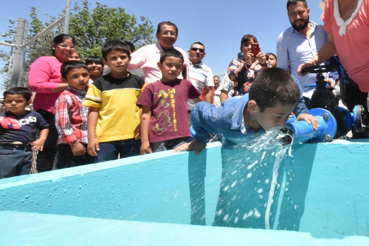 Inauguran pozo de agua en El Ranchito