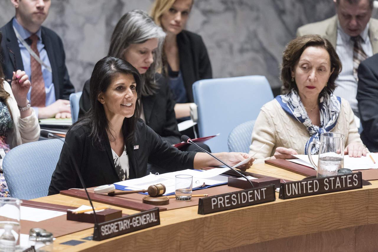 Irán, la principal amenaza en Oriente Medio, dice EU en la ONU