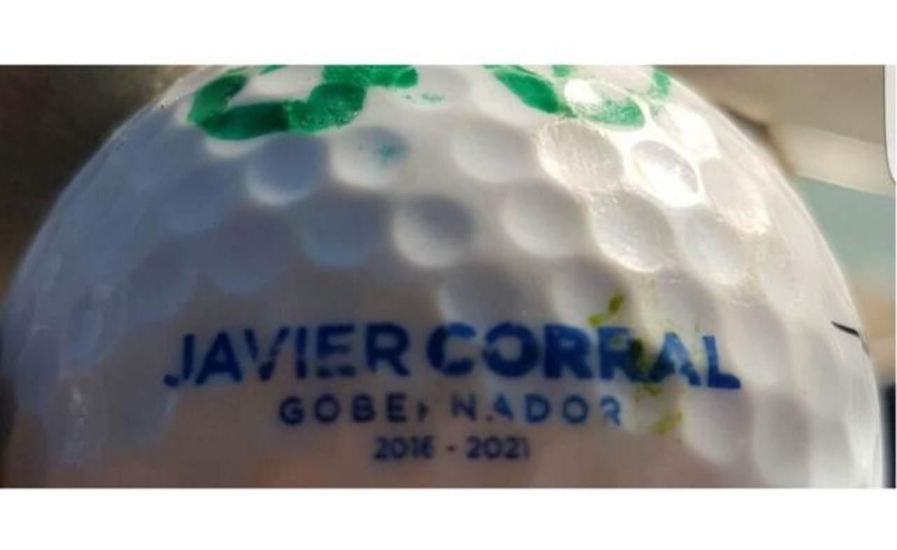 Tiene Corral pelotas de golf personalizadas