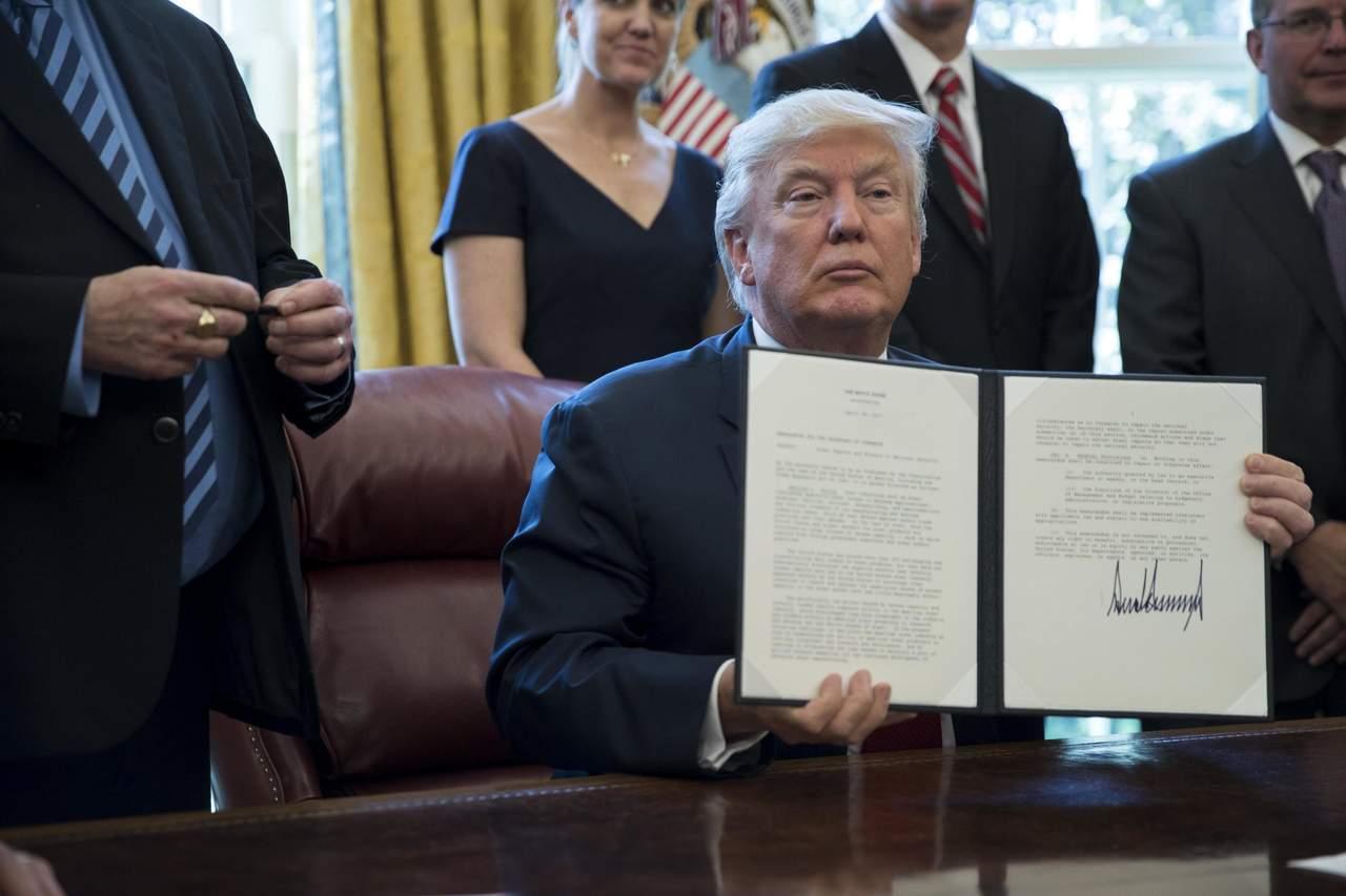 Ordena Trump investigar importaciones de acero a EU