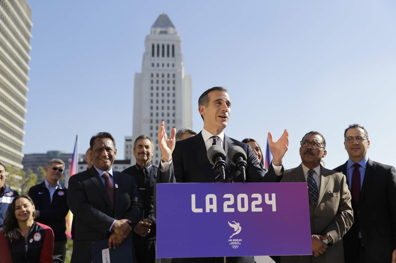 Policías no serán agentes migratorios: alcalde de Los Ángeles