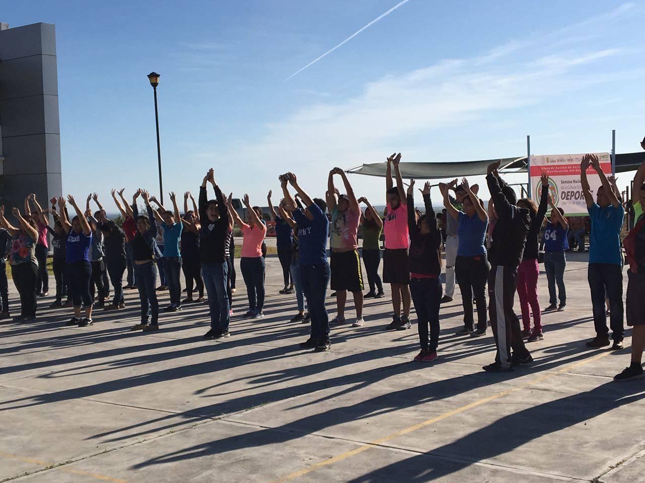 Exitosa semana de la activación física 2017
