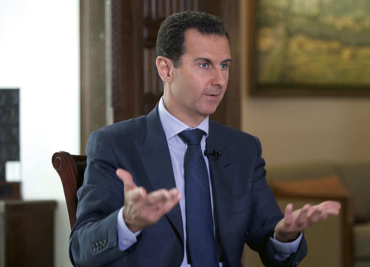 Assad acusa a EU de impedir indagación de ataque químico