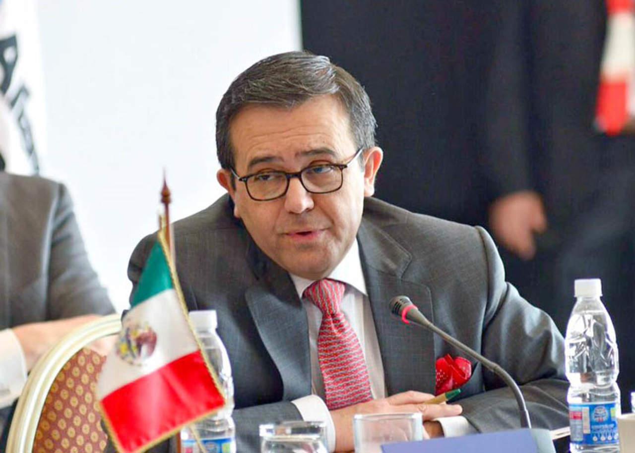 Guajardo visita EU para discutir modernización del TLCAN