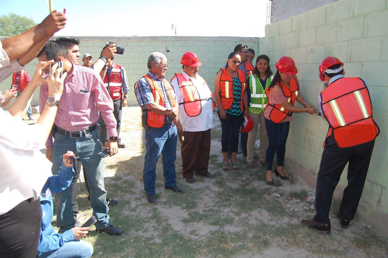 Arrancan obras en Mapimí