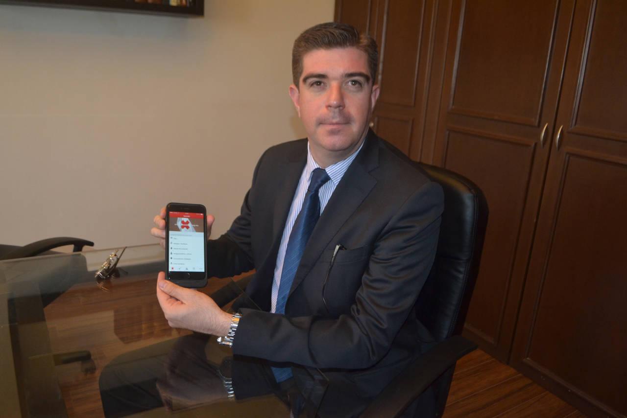 Lanza Cruz Roja aplicación móvil