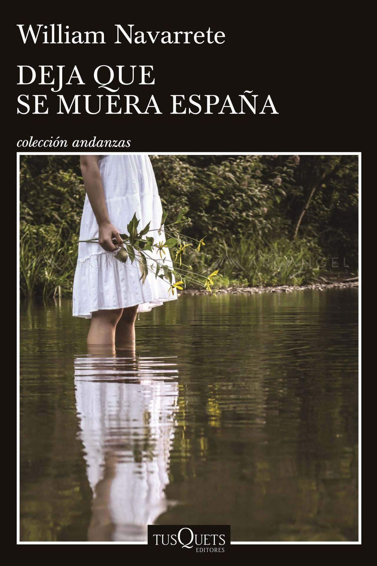 William Navarrete presenta su nueva novela