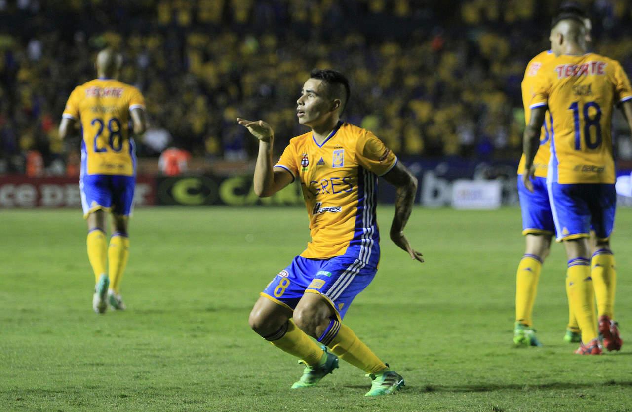 Campeón Tigres da primeros goles en el