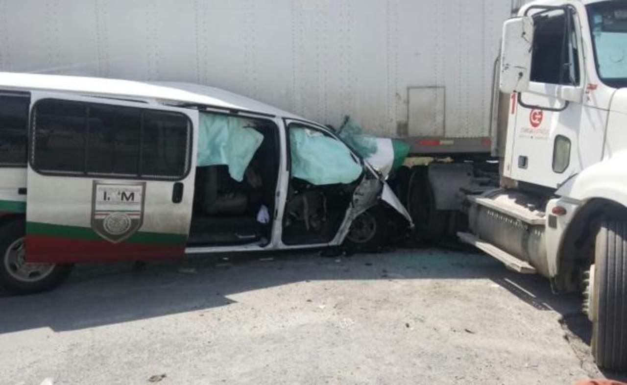 Agente de migración de NL muere en choque en Coahuila