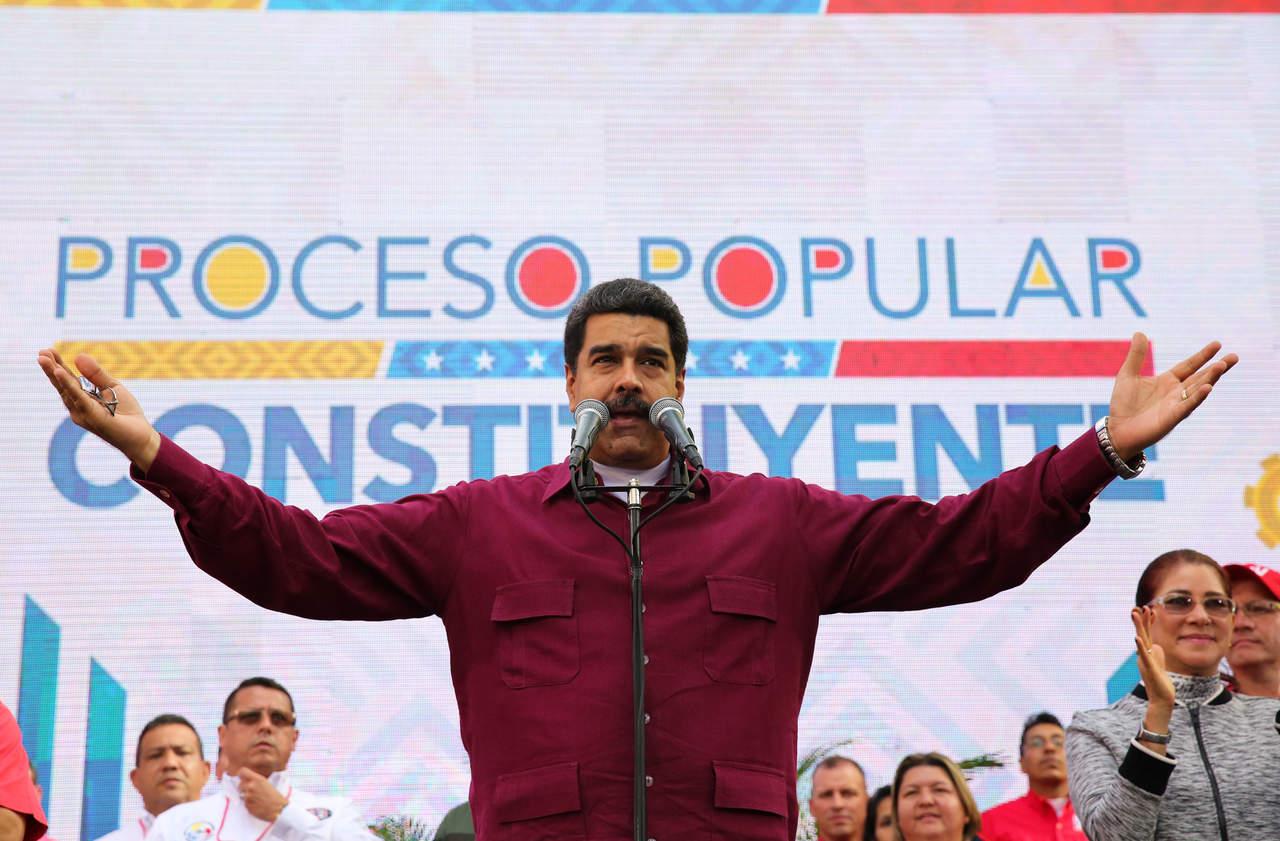 México se convirtió en un estado fallido: Nicolás Maduro