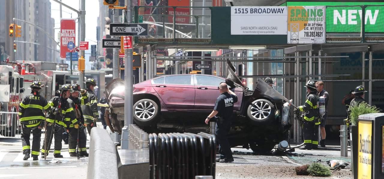 Difunden video de atropello de peatones en Times Square