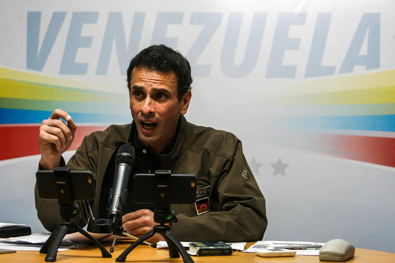 Capriles afirma que hay 50 muertos en protestas