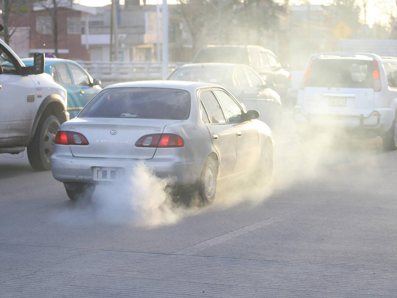 Siete de cada diez autos contaminan