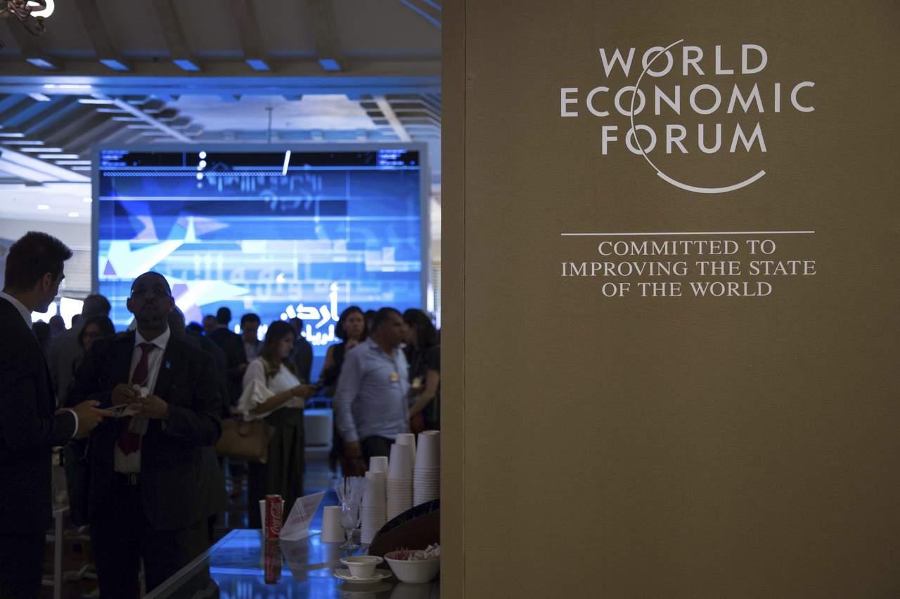 Foro Económico Mundial inicia reunión para Medio Oriente