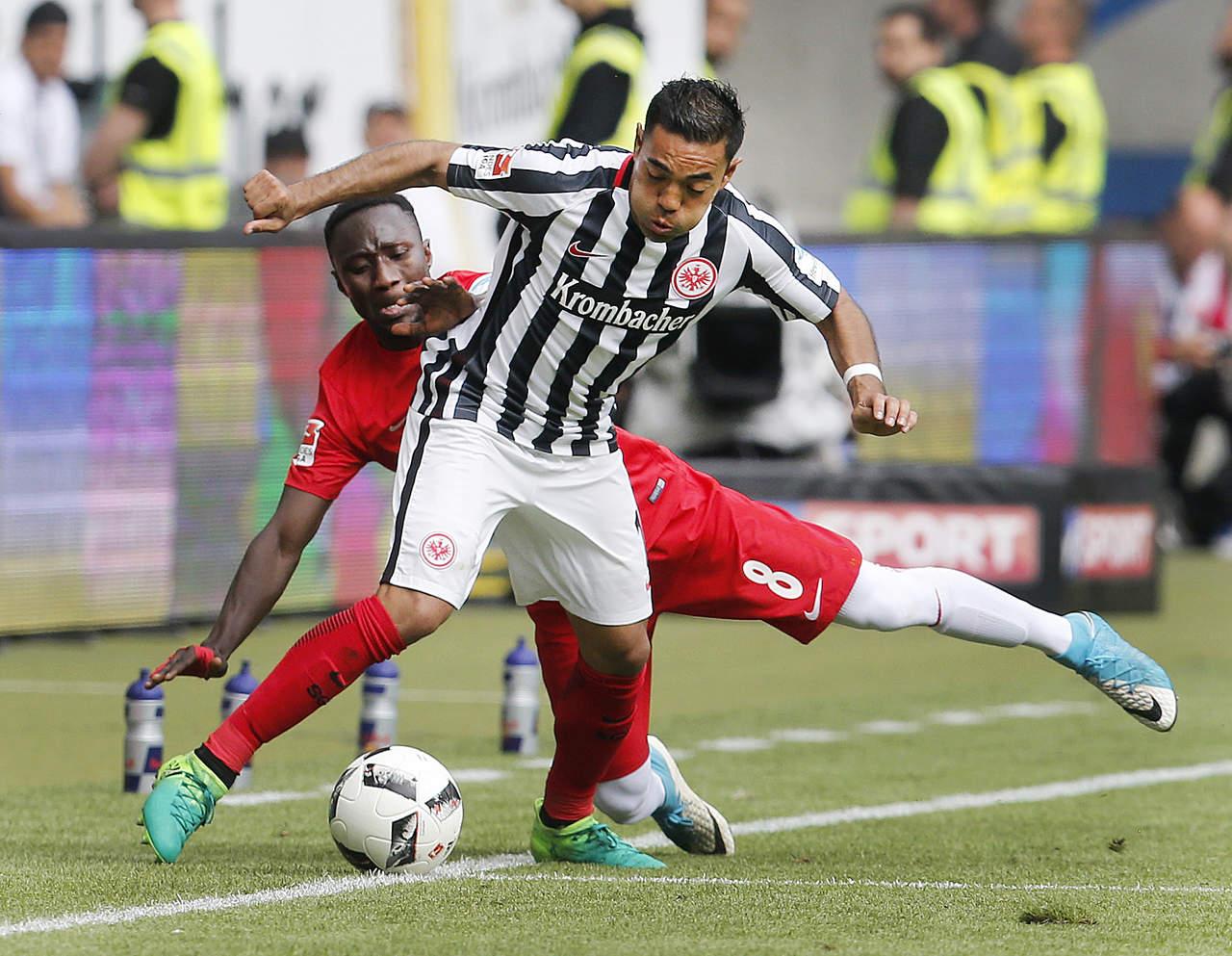 Eintracht y Marco Fabián reaccionan para evitar derrota frente al Leipzig