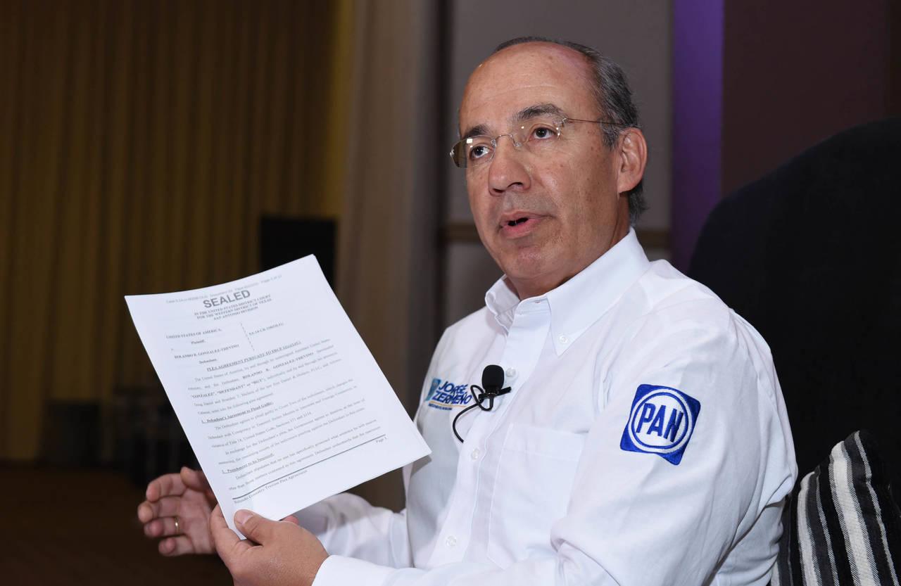 Contra Humberto, diez averiguaciones: Felipe Calderón