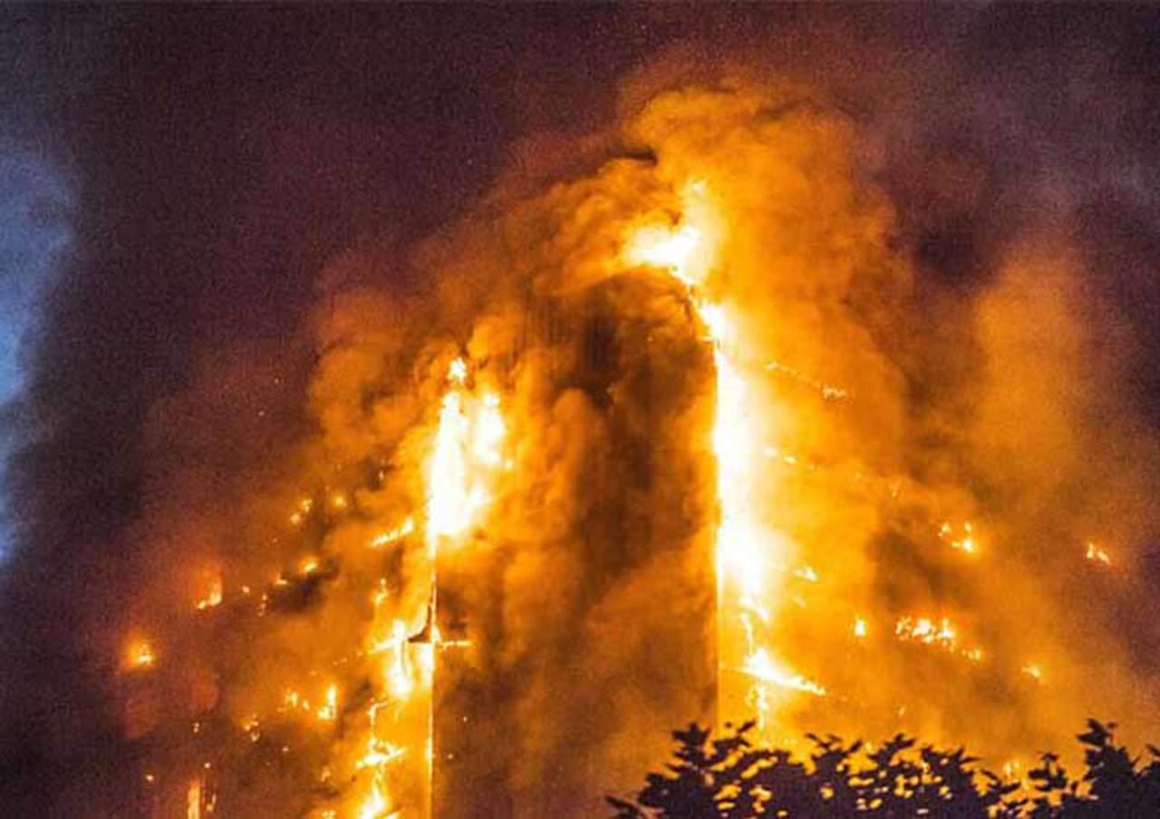 Capturan gritos de niños durante incendio de Londres