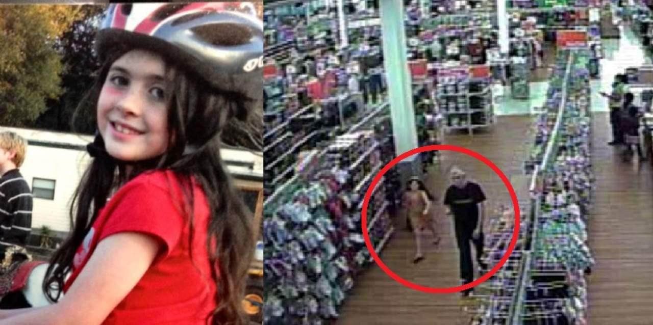 Cámaras de video registraron el secuestro de una niña