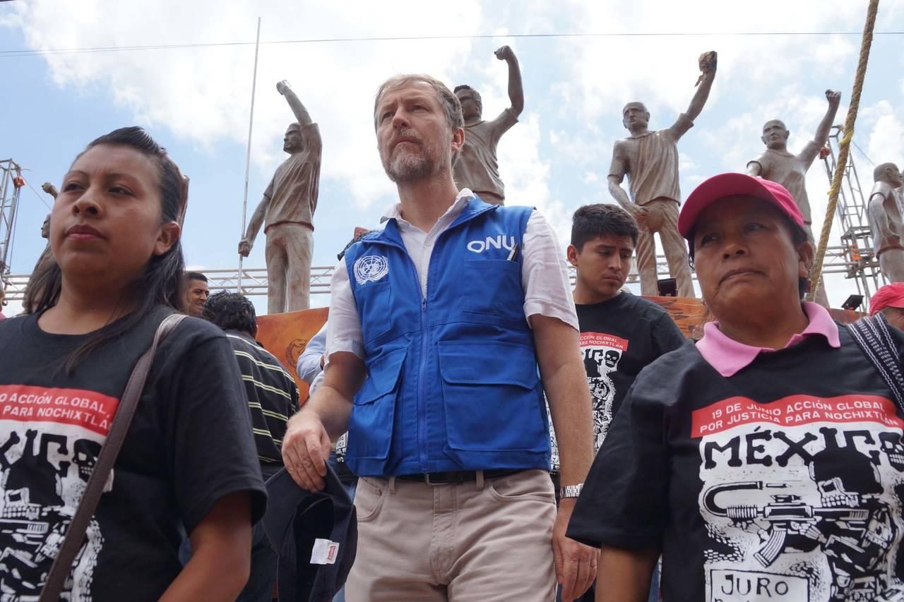 Visitan a víctimas del caso Nochixtlán