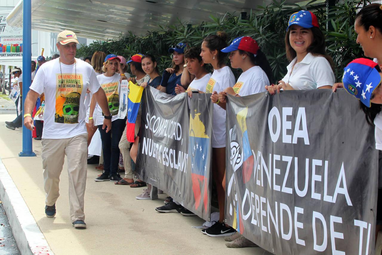 Cancún acoge a la OEA; Venezuela principal tema