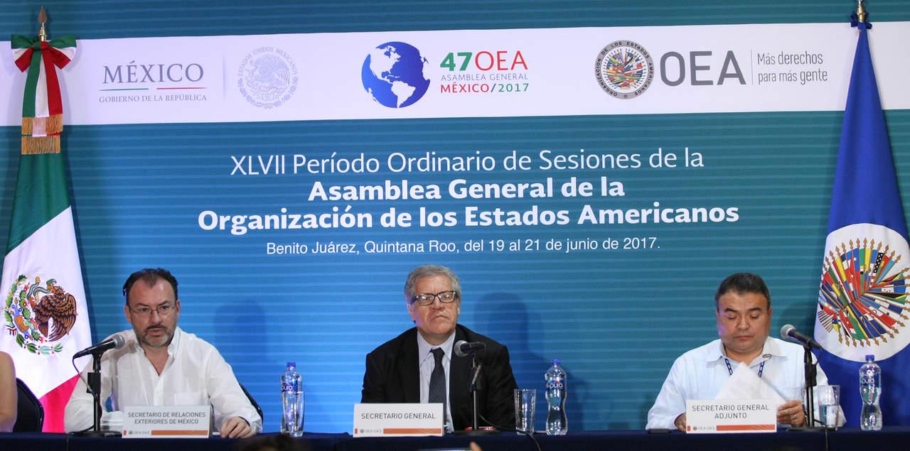 OEA muestra preocupación por malas prácticas electorales