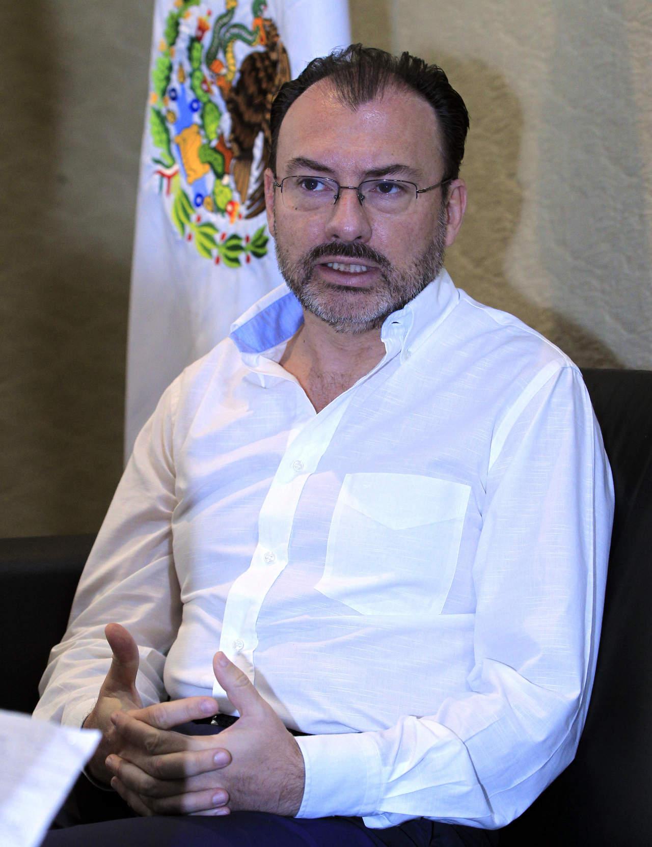 Aún pueden pasar muchas cosas sobre Venezuela: Videgaray