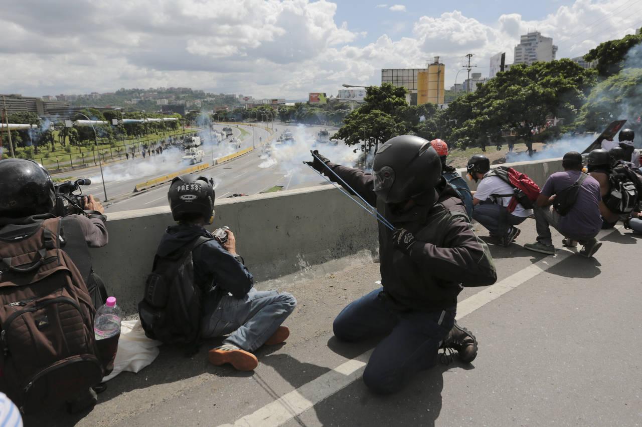 Un fallecido en el día 80 de protestas