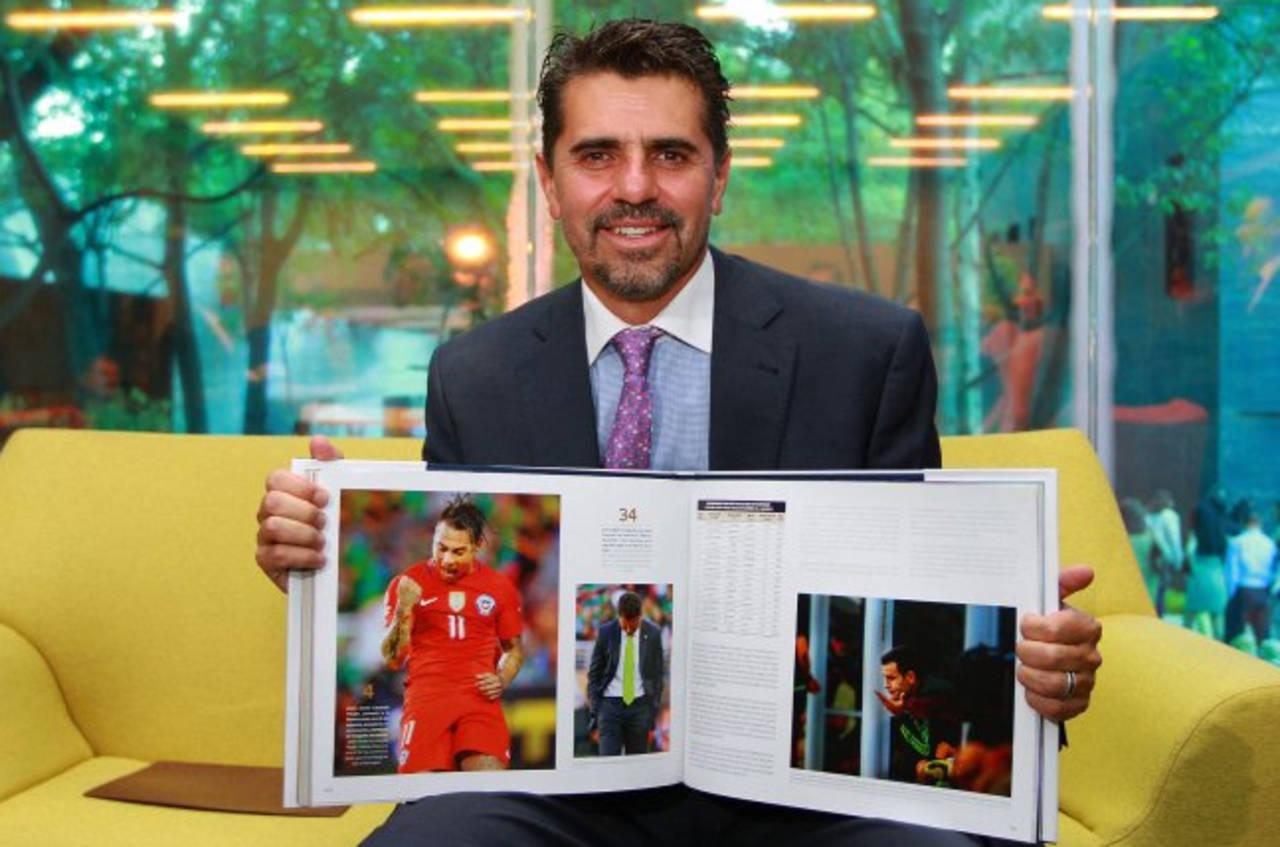 Presentan libro sobre la Copa América