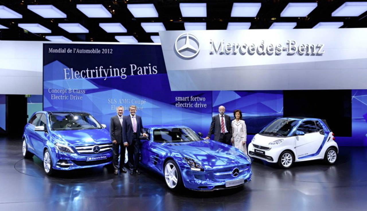 Mercedes Benz traerá híbridos a México