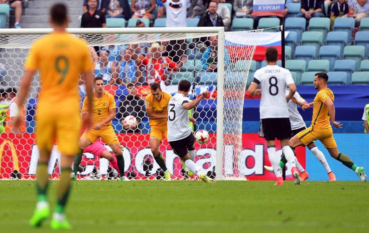 Alemania sufre, pero vence a Australia