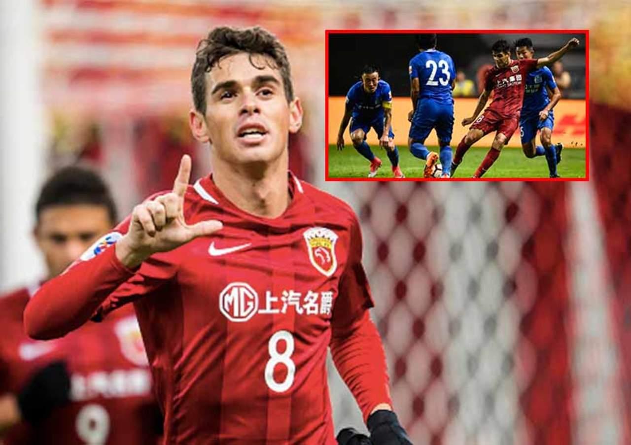 Se armó la campal en el futbol de China