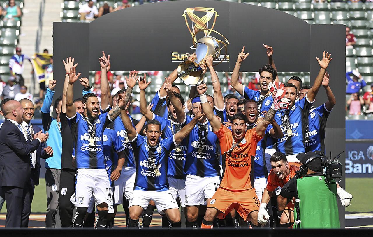 Querétaro sorprende y gana la Supercopa MX