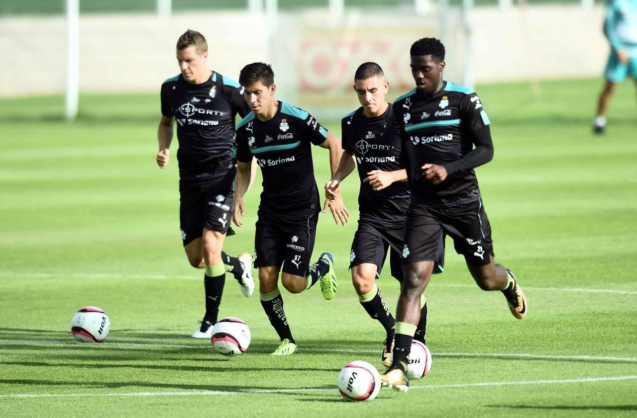 Santos regresa a los entrenamientos
