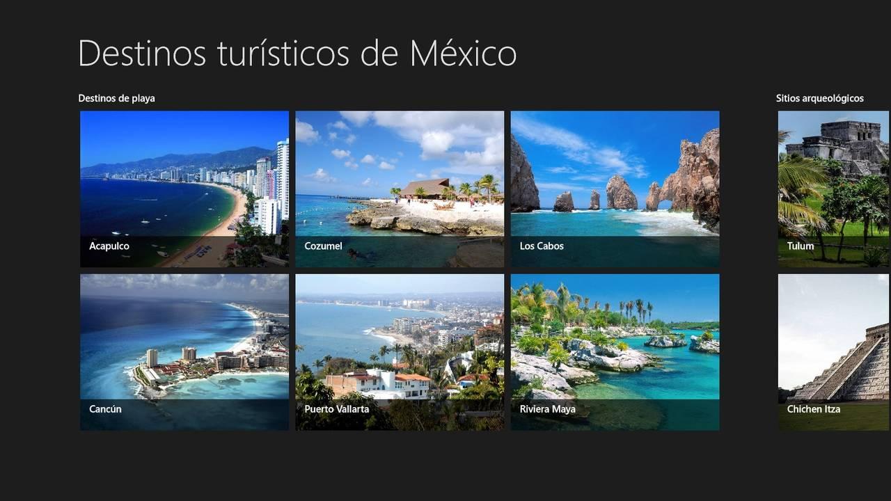 México Destinos-Tour, app para viajar