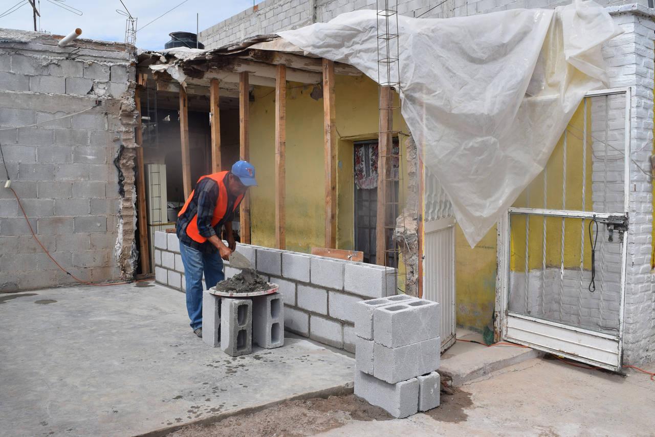 Invertirán 11 mdp en mejorar viviendas