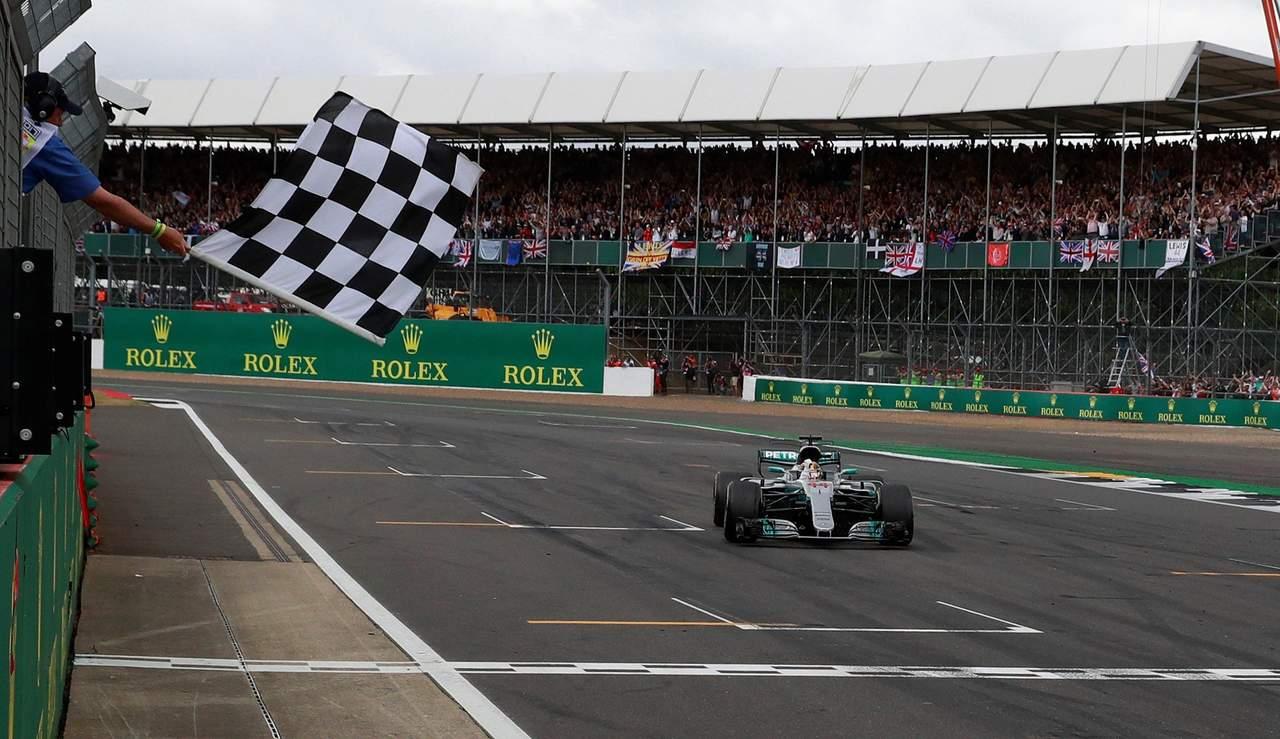 Lewis Hamilton gana el GP de Gran Bretaña