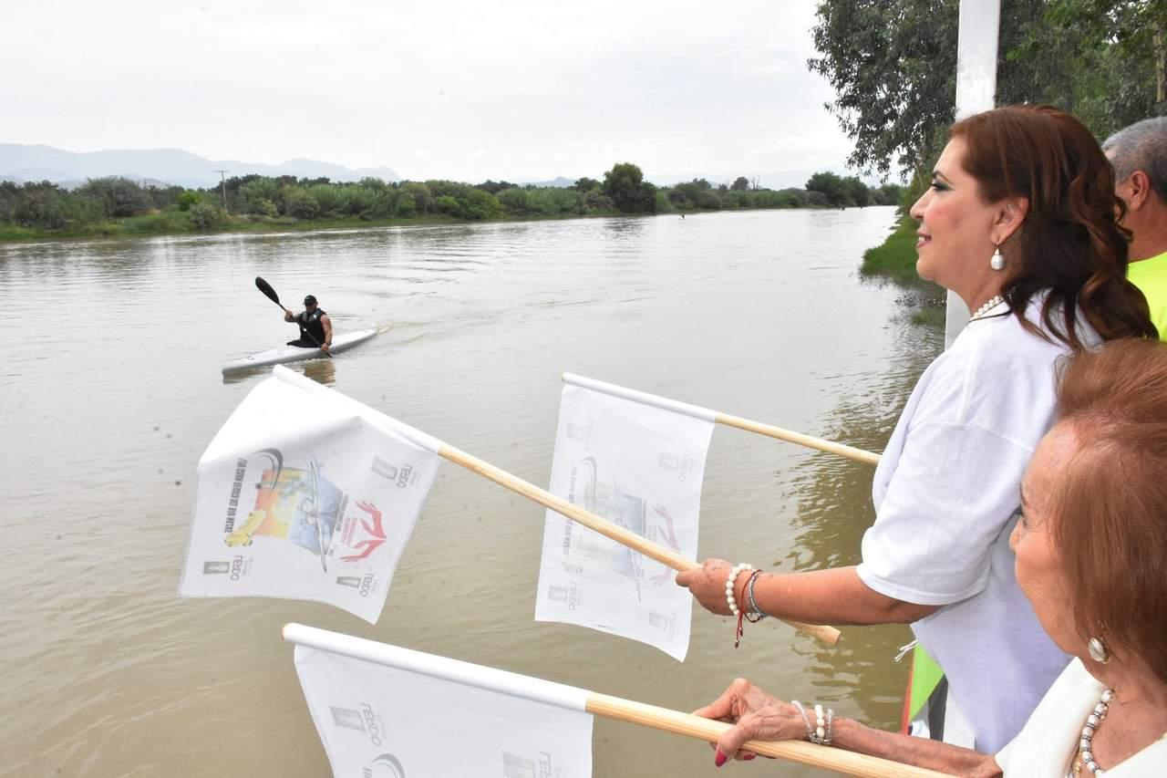 Saldo Blanco en la LIV Gran Regata del Río Nazas