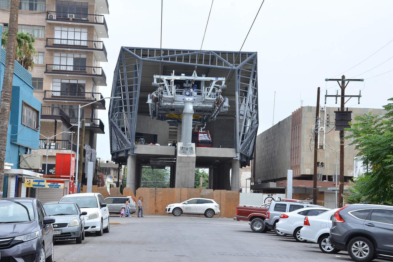 Teleférico de Torreón estará listo hasta agosto