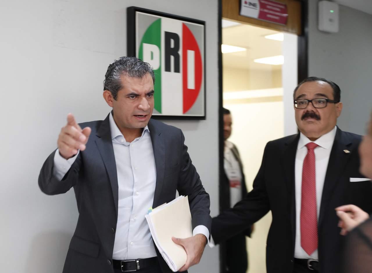 PRI acudirá a Tribunal Electoral: Ochoa Reza